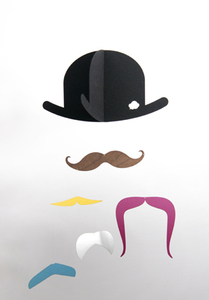 Mr. Moustache Mobile - jäll & tofta