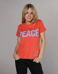 Frankie Tee 'PEACE' - Katharine E. Hamnett