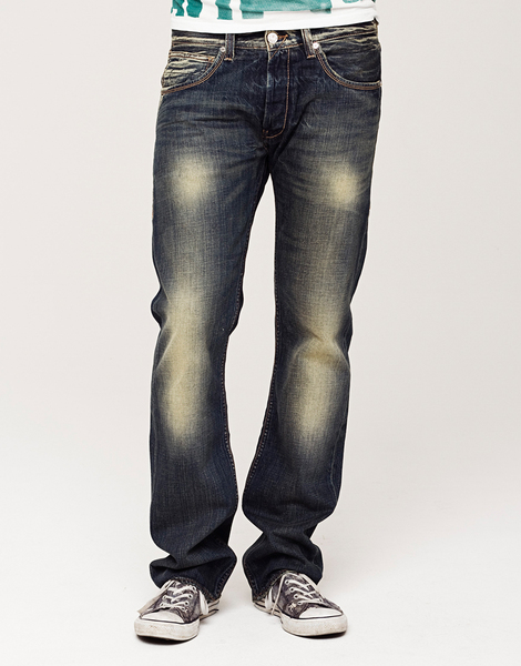 Jeans Lewis, daily blue - Kuyichi