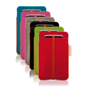 Filz-Tasche fr iPhone und iPod Classic/Touch - redmaloo