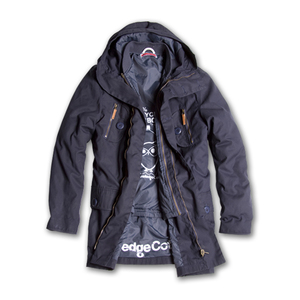 Heavy Canvas Waxed Parka - KnowledgeCotton Apparel