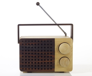 wooden radio - magno 