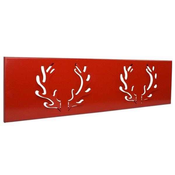hirschgeweih garderobe oh deer 21 5cm x 80 cm von pulpo. Black Bedroom Furniture Sets. Home Design Ideas
