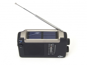 Solar Radio mit Kurbel - Grnspar