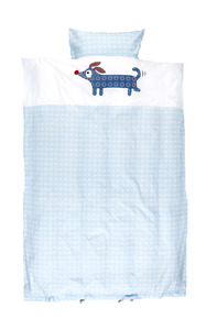 Alfred Bed linen organic blue - Franck &amp; Fischer