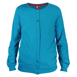 Crew Neck Jacket	malibu blue  - THOKKTHOKK