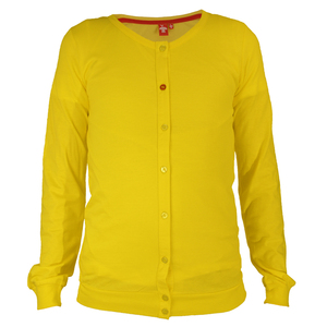 Crew Neck Jacket	yellow  - THOKKTHOKK