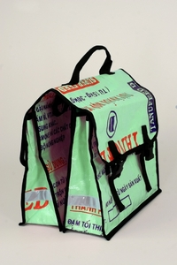 Fair Trade Recycling - Fahrradtasche  - GEPA