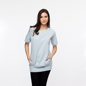 Pocket T-Shirt	pearl blue  - THOKKTHOKK