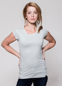 T-Shirt Grau kurzrmlig - GREENALITY