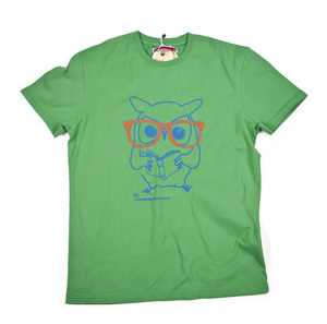 T-shirt Eule - KnowledgeCotton Apparel
