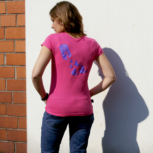 'Butterfly 01' Frauen-T-SHIRT FAIR TRADE - shop handgedruckt