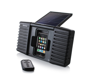 Soulra SP400 Solar Soundsystem fr iPhone und iPod - Soulra 