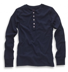 Henley - KnowledgeCotton Apparel