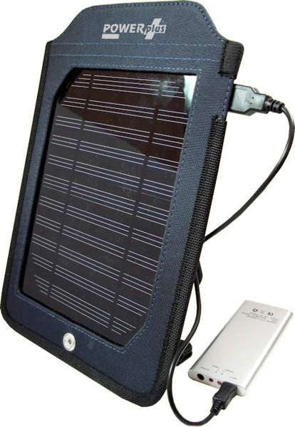 Cobra Solarmodul + Powerbank - Powerplus
