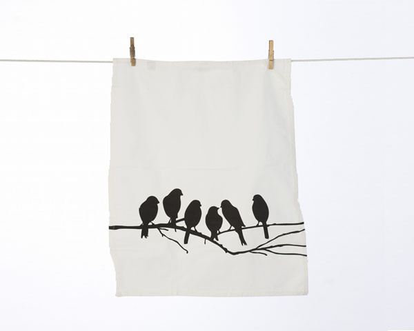 Geschirrtuch 'Love birds' - ferm LIVING