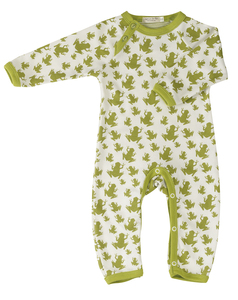 Babystrampler Frosch - Organics for Kids