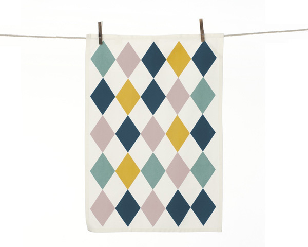 Geschirrtuch 'Harlequin'  - ferm LIVING
