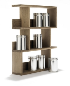 GEWRZREGAL GOURMET / Spice Rack / sidebyside / German Design - Side by Side