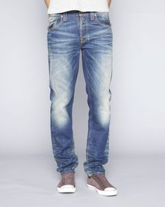 Sharp Bengt Organic Authentic Worn - Nudie Jeans