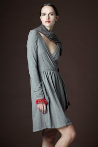 Heather Wrap Dress - Stewart+Brown