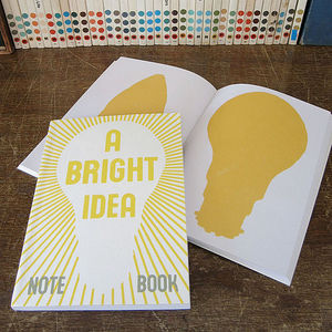 Notizbuch A Bright Idea - Sukie