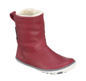 Becks Boot Kids, cherry red - VIVOBAREFOOT