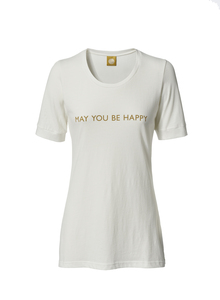 T-Shirt MANI - MAY YOU BE HAPPY