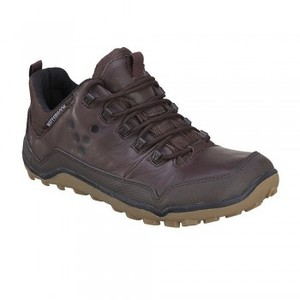 Off Road Mid (Damen) - Barfuschuhe - Dark Brown - VIVOBAREFOOT