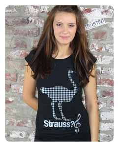 Strauss Frauen T-Shirt - Trusted Fair Trade Clothing
