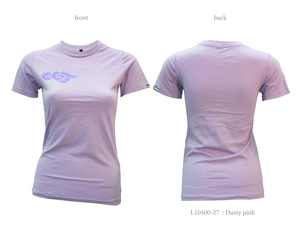 Ladies Short Sleeve Tee with Clouds - Chakura by Ku Ambiance