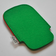 Filz Tasche fr iPhone und iPod grasgrn - Daff