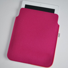 Filz iPad Hlle / PadBag himbeer - Daff