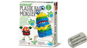 Plastic Bag Monster - green creativity