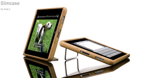iPad 2 Slimcase Bamboo - Schutzhlle aus Bambus - Vers