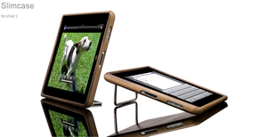 iPad 2 Slimcase, Walnut - Schutzhlle aus Walnuss - Vers
