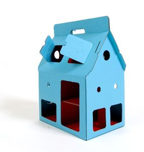 MobileHome- Puppenhaus aus Pappe - Kidsonroof