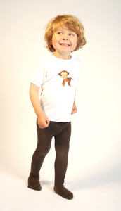 Kinder T-Shirt mit Druck 'Affe' - Preciosa