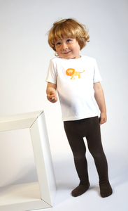 Kinder T-Shirt mit Druck 'Lwe' - Preciosa