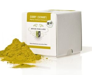 Curry Scharf - Spicy Indian Colours - 50 g - Spice for Life