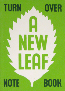 Notizbuch 'Turn over a new leaf' - Sukie