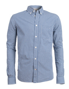 Light Poplin Shirt - KnowledgeCotton Apparel