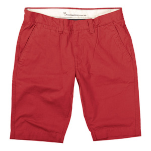 Twisted Twill Short rot - Knowledge Cotton Apparel