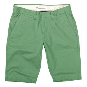 Twisted Twill Short grn - KnowledgeCotton Apparel