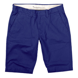 Twisted Twill Short blau - Knowledge Cotton Apparel