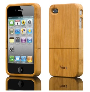  iPhone 4/4S Schutzhlle aus Bambus - Shellcase Bamboo - Vers