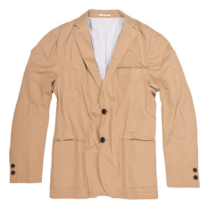 LIGHT TWILL BLAZER - Knowledge Cotton Apparel