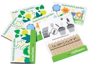 Streichholzgarten 'matchstickgarden' Blumen + Kruter - matchstickgarden