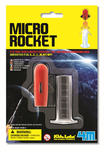 4M Micro Rocket - Minirakete - Green Science