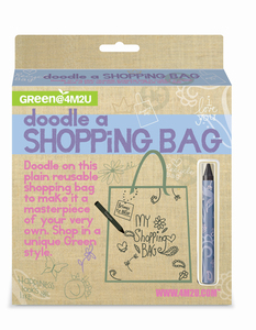 Green Science - Doodle a Shopping Bag - Bemale deine Einkauftasche - Green Science